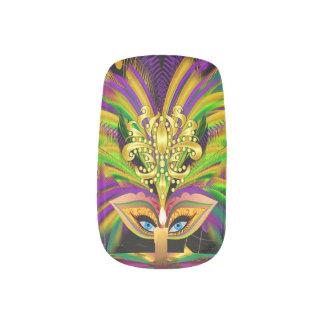 Mardi Gras Queen 1 Minx® Nail Art