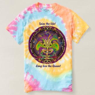 Mardi Gras Queen 2B view notes below T-shirt