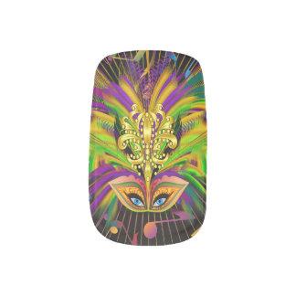 Mardi Gras Queen 3 Minx® Nail Art