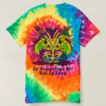 Mardi Gras Queen 3 view notes below T-shirt