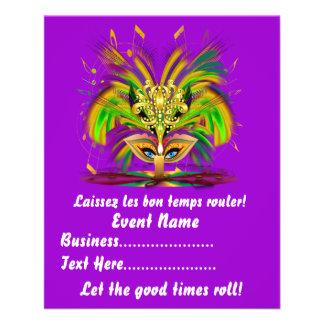 "Mardi Gras Queen 4.5"" x 5.6"" View Notes Please 4.5"" X 5.6"" Flyer"