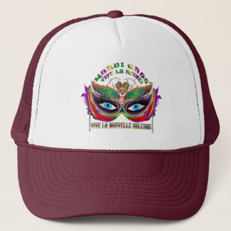 Mardi Gras Queen 5 Read About Design Below Trucker Hat