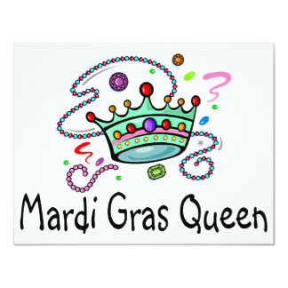 Mardi Gras Queen Card
