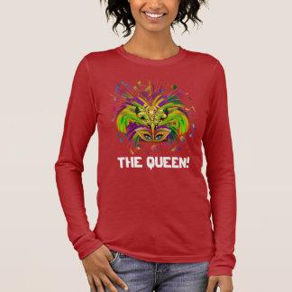 Mardi Gras Queen Light View Notes Plse Long Sleeve T-Shirt