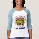 Mardi Gras Queen Light View Notes Plse Tee Shirts