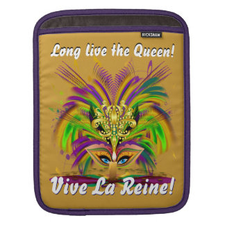 Mardi Gras Queen Please View Notes 30 colors Sleeve For iPads
