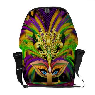 Mardi Gras Queen Please View Notes Courier Bag