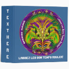 Mardi Gras Queen Style 2 View Notes Plse 3 Ring Binder