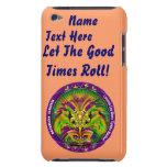 Mardi Gras Queen Style 2 View Notes Plse iPod Case-Mate Cases