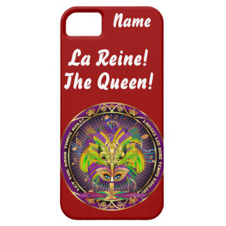 Mardi Gras Queen Style 2 View Notes Plse iPhone 5 Covers