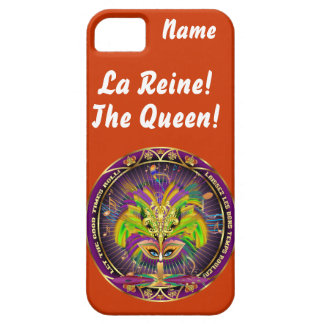 Mardi Gras Queen Style 2 View Notes Plse iPhone 5 Cover