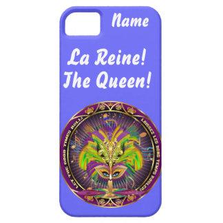 Mardi Gras Queen Style 2 View Notes Plse iPhone 5 Case
