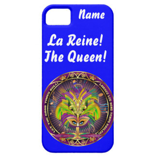 Mardi Gras Queen Style 2 View Notes Plse iPhone 5 Cases