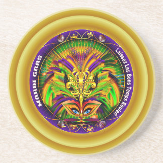 Mardi Gras Queen Style 2 View Notes Plse Drink Coaster