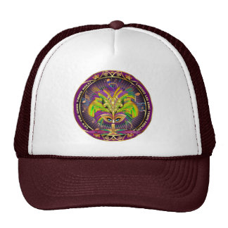 Mardi Gras Queen Style 2 View Notes Plse Trucker Hats