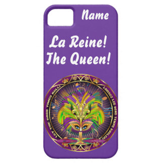 Mardi Gras Queen Style 2 View Notes Plse iPhone SE/5/5s Case