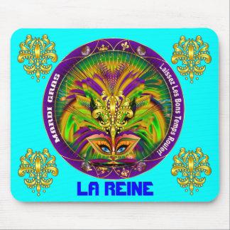 Mardi Gras Queen Style 2 View Notes Plse Mouse Pad