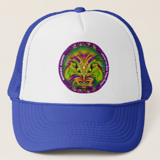 Mardi Gras Queen Style 2 View Notes Plse Trucker Hat