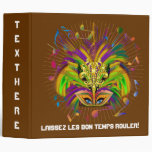Mardi Gras Queen Style 3 View Notes Plse 3 Ring Binder