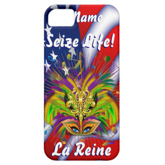 Mardi Gras Queen Style 3 View Notes Plse iPhone 5 Covers