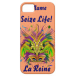 Mardi Gras Queen Style 3 View Notes Plse iPhone 5 Cover