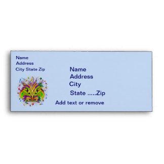 Mardi Gras Queen Style 3 View Notes Plse Envelope
