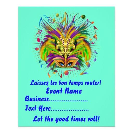 Mardi Gras Queen Style 3 View Notes Plse Flyer