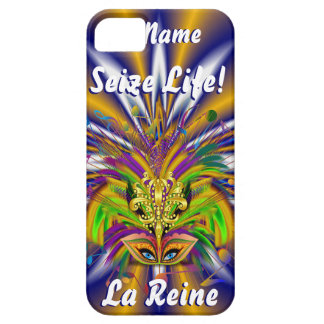 Mardi Gras Queen Style 3 View Notes Plse iPhone SE/5/5s Case