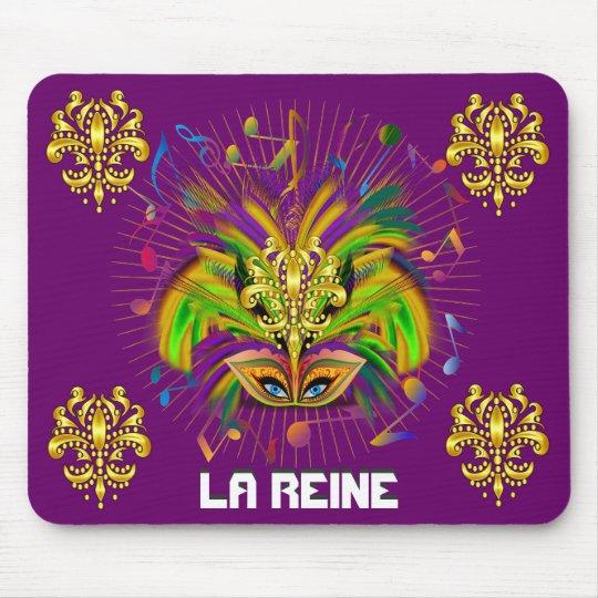 Mardi Gras Queen Style 3 View Notes Plse Mouse Pad
