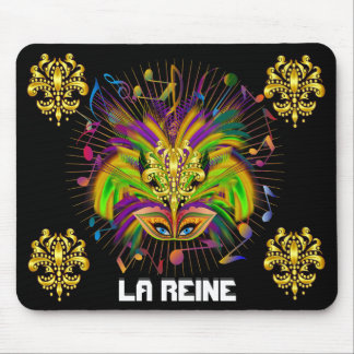 Mardi Gras Queen Style 3 View Notes Plse Mouse Pad