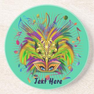 Mardi Gras Queen Style 3 View Notes Plse Sandstone Coaster