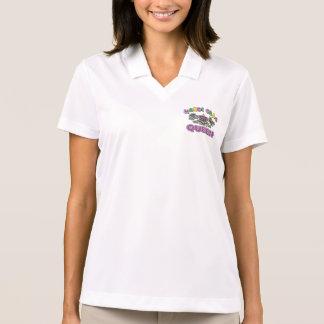 Mardi Gras Queen Polo Shirt