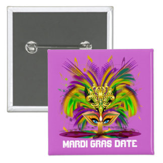 Mardi Gras Queen View Notes Please Button