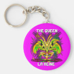 Mardi Gras Queen View Notes Please Keychains