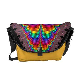 Mardi Gras Rainbow Gay Pride LGBT Messenger Bag