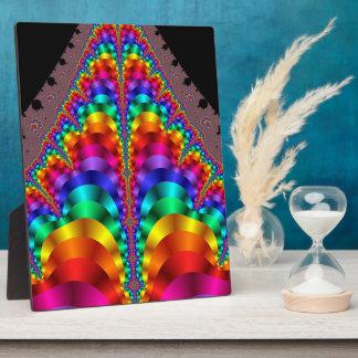 Mardi Gras Rainbow Gay Pride LGBT Plaque