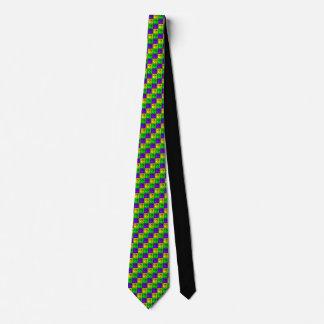 Mardi Gras Rhombus™ Mens' Necktie