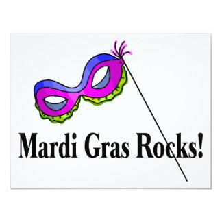 Mardi Gras Rocks Card
