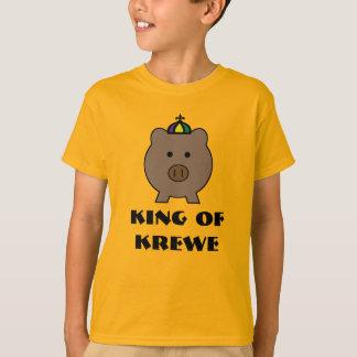 Mardi Gras ~ Roy Pig King of Krewe T-Shirt