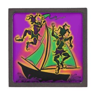 Mardi Gras Ship of Fools Premium Gift Boxes