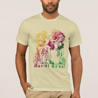 Mardi Gras Showgirls T-Shirt