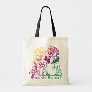 Mardi Gras Showgirls Tote Bag