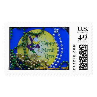 Mardi Gras sign, (c) Bill Tegtmeyer  2006 Postage Stamps