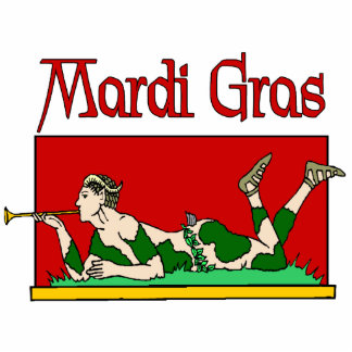 Mardi Gras Sign Cutout