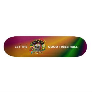 Mardi Gras Skate Decks