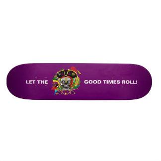 Mardi Gras Skateboard
