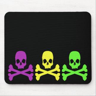 Mardi Gras Skulls Mouse Pad