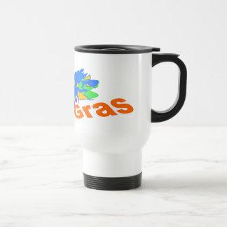 Mardi Gras Split Mask Coffee Mugs