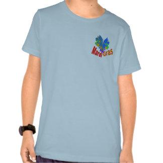 Mardi Gras Split Mask Tshirt