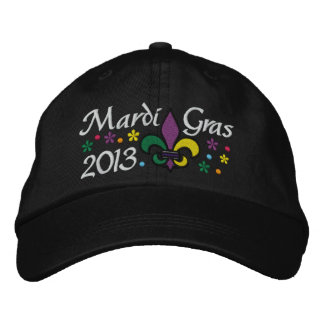 Mardi Gras - SRF Embroidered Baseball Cap